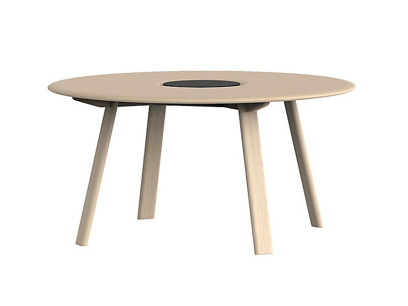 HBF Ami Round Conference Table with Power