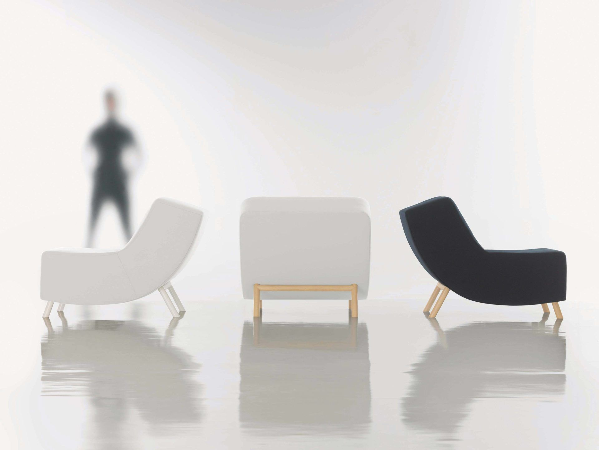 HBF C Collection Lounge Chair