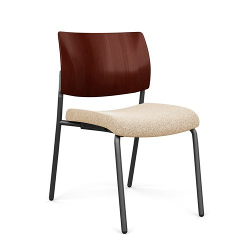 SitOnIt Focus Wood Back Side Chair