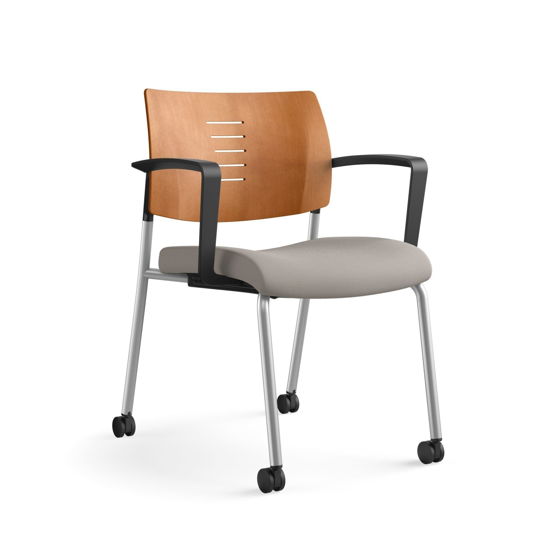 SitOnIt Focus Wood Back Guest Chair